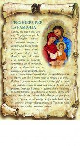 """Copertina di 'Tavoletta sagomata """"Preghiera per la famiglia - 2""""'"""