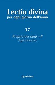 Copertina di 'Lectio divina per ogni giorno dell'anno [vol_17] / Proprio dei santi 2 (luglio-dicembre)'