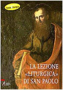 Copertina di 'Lezione liturgica di San Paolo'