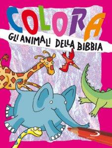 Copertina di 'Colora gli animali della Bibbia'