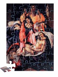 """Copertina di 'Puzzle """"Compianto sul Cristo morto"""" (48 pezzi)'"""