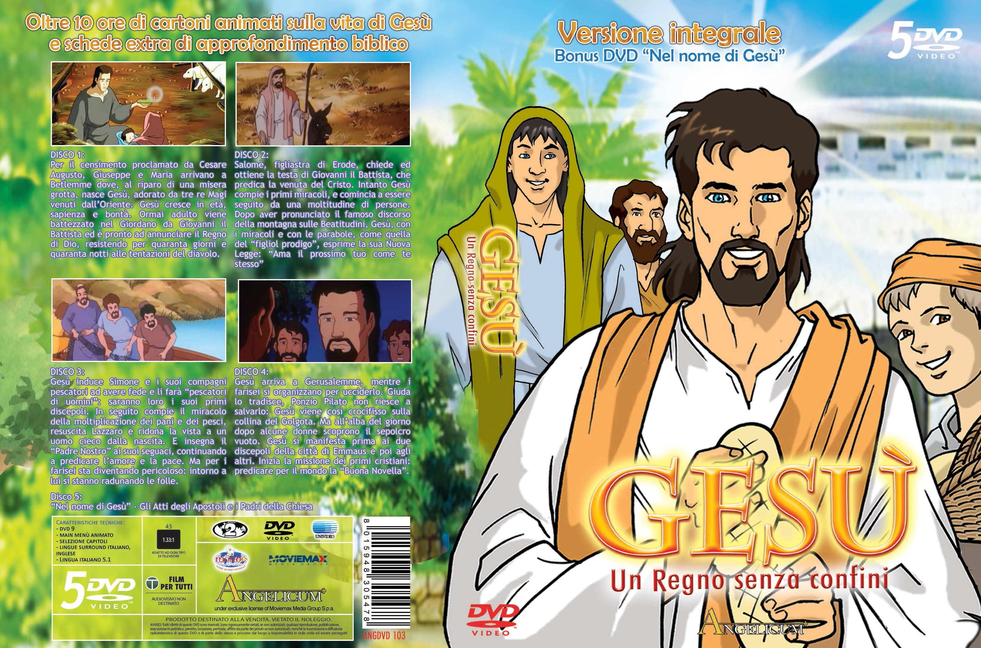 Gesù. un regno senza confini versione integrale nel nome di gesù