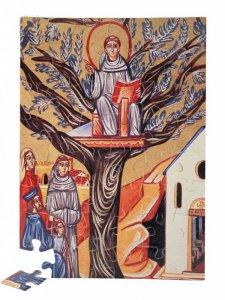 """Copertina di 'Puzzle """"Antonio predica dall'albero di Camposampiero"""" (48 pezzi)'"""
