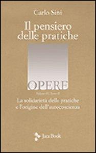 Copertina di 'La solidarietà delle pratiche e l'origine dell'autocoscienza'