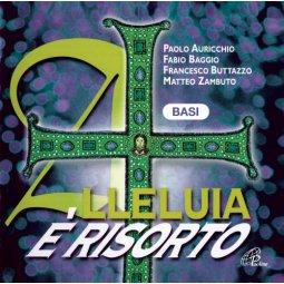 Copertina di 'Alleluia è risorto - Basi musicali Canti Pasquali per la Messa con i Giovani'