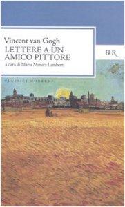 Copertina di 'Lettere a un amico pittore'