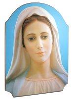 """Quadro in legno """"Madonna di Medjugorie"""""""