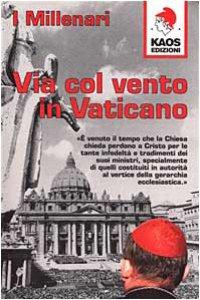 Copertina di 'Via col vento in Vaticano'