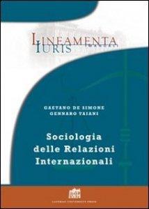 Copertina di 'Sociologia delle relazioni internazionali'