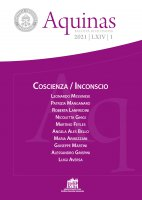 Coscienza/Inconscio  Aquinas 2021 | LXIV | 1