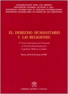 Copertina di 'El Derecho Humanitario y las Religiones'