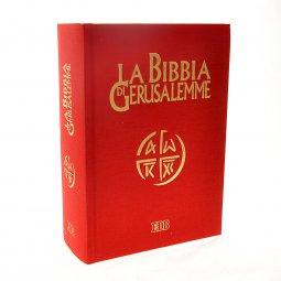 Copertina di 'La Bibbia di Gerusalemme (copertina rigida telata)'