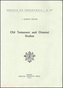 Copertina di 'Old Testament and oriental studies'