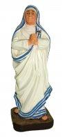 Statua di Santa Madre Teresa di Calcutta da 12 cm in confezione regalo con segnalibro in IT/EN/ES/FR