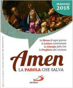 Copertina di 'Amen. La parola che salva - Maggio  2018'