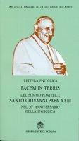 Pacem in terris - Giovanni XXIII