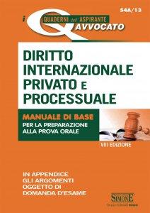 Copertina di 'I Quaderni dell'aspirante Avvocato - Diritto Internazionale Privato e Processuale'