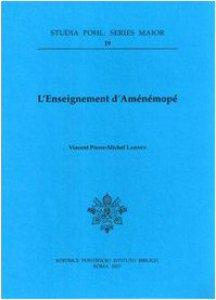 Copertina di 'L'enseignement d'aménémopé'