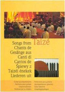 Copertina di 'Canti di Taizé. Partitura per chitarra'