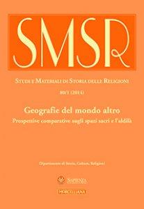 Copertina di 'SMSR. Vol. 80/1 (2014): Geografie del mondo altro'