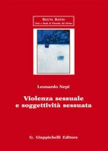Copertina di 'Violenza sessuale e soggettività sessuata'