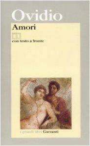 Copertina di 'Amori. Testo latino a fronte'