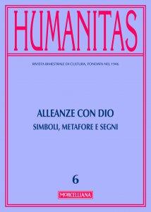 Copertina di 'Humanitas. 6/2016: Alleanze con Dio. Simboli, metafore e segni.'