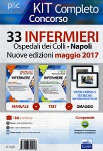 Copertina di 'Concorso 33 infermieri Ospedali dei Colli, Napoli. Kit completo. Con aggiornamento online'
