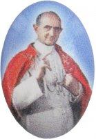 Adesivo resinato per rosario fai da te misura 1 - Beato Paolo VI