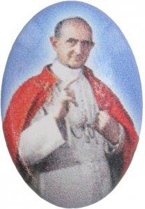 Copertina di 'Adesivo resinato per rosario fai da te misura 1 - Beato Paolo VI'