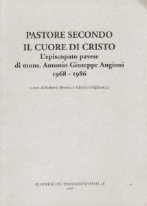 Copertina di 'Pastore secondo il cuore di Cristo'