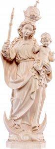Copertina di 'Statua della Madonna Bavarese da 25 cm in legno naturale - Demetz Deur'