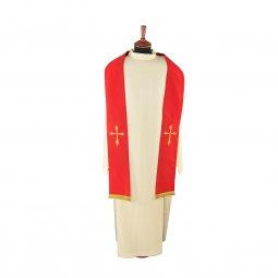 Copertina di 'Stola rossa con croce stilizzata'