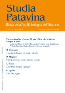 Copertina di 'Studia Patavina 2013/3'