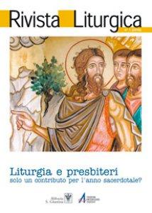 Copertina di 'La liturgia: inciampo o risorsa nell'azione pastorale?'