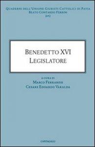 Copertina di 'Benedetto XVI legislatore'