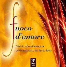 Copertina di 'Fuoco d'amore - basi musicali'