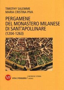 Copertina di 'Pergamene del XIII secolo del monastero di Sant'Apollinare di Milano'