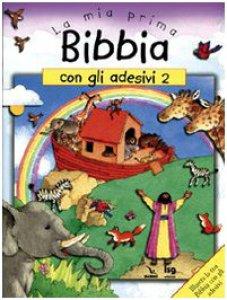 Copertina di 'La mia prima Bibbia con gli adesivi'