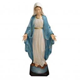 """Copertina di 'Statua in resina colorata """"Madonna di Lourdes"""" - altezza 110 cm'"""
