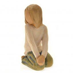 "Copertina di 'Statuetta ""Joyful child"" (Bimba gioiosa)'"
