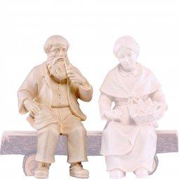 Copertina di 'Nonno seduto H.K. - Demetz - Deur - Statua in legno dipinta a mano. Altezza pari a 11 cm.'