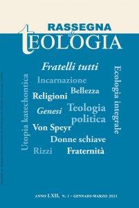 Copertina di 'Rassegna di Teologia n. 1/2021'