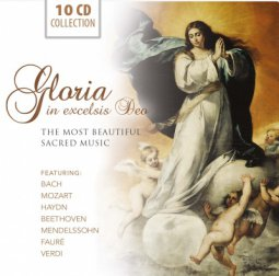 Copertina di 'GLORIA IN EXCELSIS DEO - The most beautiful sacred music'