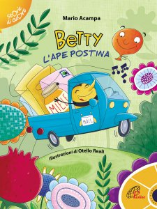 Copertina di 'Betty l'ape postina'