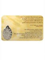 Immagine di 'Card medaglia Benedetto XVI (10 pezzi)'