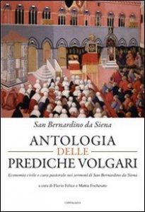 Copertina di 'Antologia delle prediche volgari'
