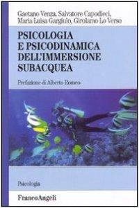 Copertina di 'Psicologia e psicodinamica dell'immersione subacquea'