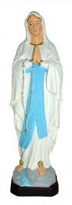 Copertina di 'Statua da esterno della Madonna di Lourdes in materiale infrangibile dipinta a mano da circa 20 cm'