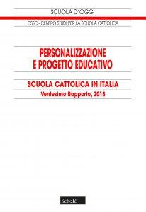 Copertina di 'Personalizzazione e progetto educativo. Scuola cattolica in Italia'